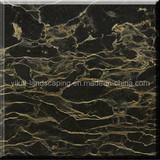 Chinese Portoro Extra Marble Tile/Slab (CM-02)