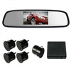 4.3inch Visible Mirror Parking Sensor with Camera (Q-098)