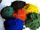 ISO Certificated Iron Oxide (yellow/black/green/blown/blue/red)