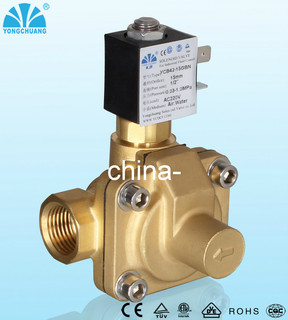 Low Power Anti Water Hammer Electric Water Solenoid Valve Similar to SMC Valve