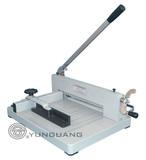Heavy-Duty Manual Guillotine Desktop Stack Paper Cutting Machine (YG-858 A3/A4)