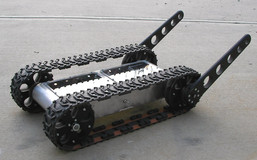 Tracked Robot with Flipper-Stabilizer Arm Kit