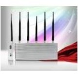 5 Antenna Cell Phone Jammer with Remote Control (3G,GSM,CDMA,DCS