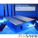 RCJ40-A Remote control cell phone jammer 40m radius