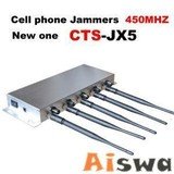 5 adjustable resistance bands Cell Mobile Phone Jammer (CTS-COOL5)