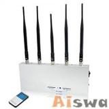 5 Bands Jammer,GPS&GSM&3G Signal Jammer/blocker CTS-J5