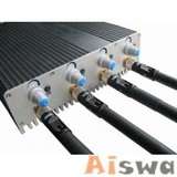 3G Jammer Adjustable Strength Cell Phone Jammer - 4 Band Jammer (CTS-JRX)