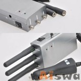2400mw, 7800ma Hand-Held Cell Phone Jammer(CTS-1000HB)