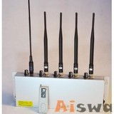 5 bands Adjustable Strength Cell Mobile Phone Jammer (CTS-JX5)