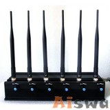 Adjustable Cell Phone Jammer & VHF/UHF Walkie-Talkie Jammer