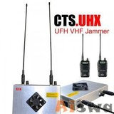 UHF VHF Jammer walkie-talkie Jammer with battery