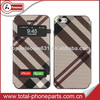 Cell phone accessories for iphone 5 leather case