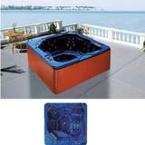 Outdoor Blue Whirlpool Massage Bathtub | Arcylic Massage SPA | Balboa Hot Tub