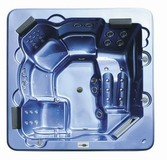portable soaking jetted Acrylic home spa hot tub