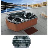 Cool Tank Hydro Whirlpool Bathtub | US Arcylic Massage Bathtub | Air Jets Massage SPA Hot Tub