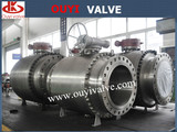 Professional Manufacturer of Forged Trunnion Ball Valve