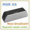 Magnetic card writer/reader MSRX6 than MSR606 MSR206 Smallest Newest