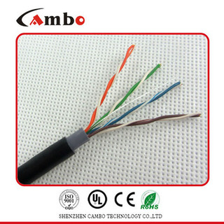 Underground Burial outdoor cat.5 Network Cable 23AWG/0.573mm