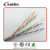 PVC LSZH 23AWG CU Cat 6 UTP Cable 1000Mbps High Speed