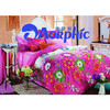 Pigment Printed Bedding Set Bed Sheet Comforter Set Bed Linen Cotton