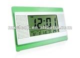 YD8068 multifunction digital clock with calendar temperature desktop
