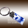 Classical China Style of metal keychain with logo customize