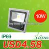 900 lumens 10w led floodlight rgb 85-265V AC