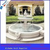 white marble garden decoration fountain