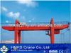 Double girder gantry crane 25t for outdoor work