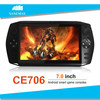 Dual core 7inch 1G/8G HD screen multifuctional android game pad