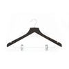 high quality trousers wooden hanger