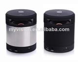 small round speaker My vision bluetooth speaker x-bass manufacturer