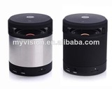 small round speaker My vision bluetooth speaker x-bass manufacturer