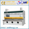 QC11Y guillotine, Hydraulic CNC Steel Cutting Machine, QC11Y shearing machine