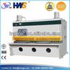 CNC Hydraulic guillotine cutting shear,cortes,guillotine shearing machine