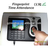 RTC-101 finger print reader attendance price of biometrics fingerprint scanner biometrics attendance system finger scanner