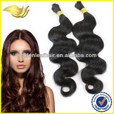 6A grade top quality body wave crochet hair extension