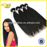 Factory virgin human peruvian straight hair in China