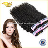 Wholesale high quality double weft virgin brazilian human hair weft