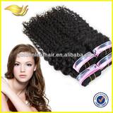 Wholesale high quality double weft virgin brazilian human hair weft