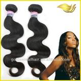 AAAAA unprocessed real pure human hair extension aliexpress hair Distributor