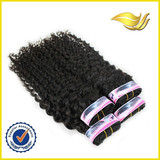 6A grade wholesale pure indian remy virgin human hair weft