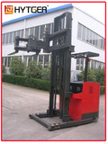 3-Way narrow aisle electric Forklift used Long material / forklift used Narrow Aisel long material electric forklift truck