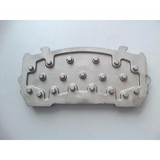 auto parts casting ,brake block Steel Backing