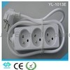 CE certificate French style extension socket with switch YL-1013E