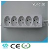 CE certificate French style extension socket with switch YL-1015E