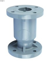 CPVC Flanged Ball check valve