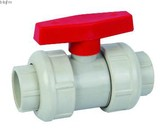 Plastic PVDF socket end ball valve
