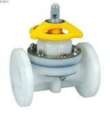 Plastic PVDF weir type diaphragm valve