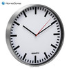 (M2412C)Round 12 inch quartz large metal wall clock